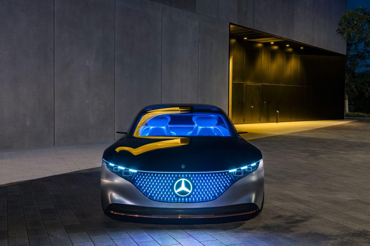 Concept Mercedes-Benz Vision EQS (Photos, price ...