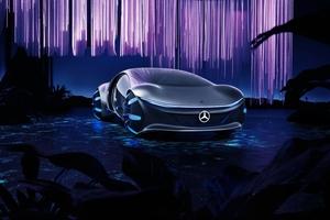 Mercedes-Benz Vision Avtr EV